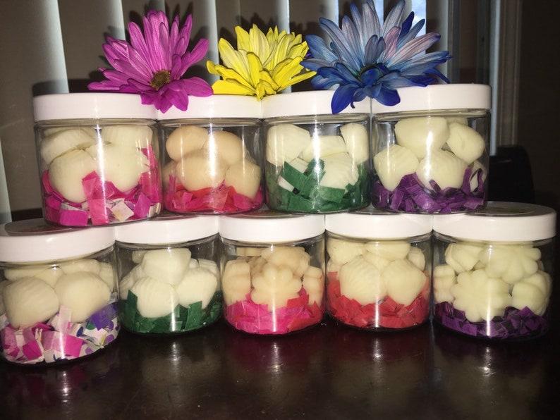 Caramel Apple Soy Wax Melts ~10 Seashell or Flower Shaped Melts ~ No Dye Added