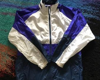 90s Tri-Colour SporTek Windbreaker