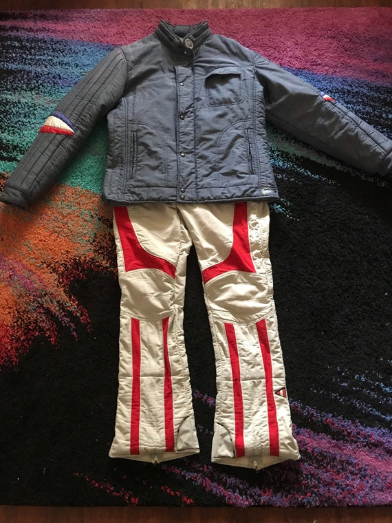 70s Italian Samas Ski Suit