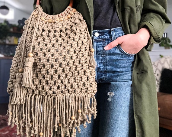 Cambrai Knotted Tote