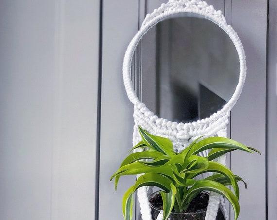 Josie Mirror + Plant Hanger