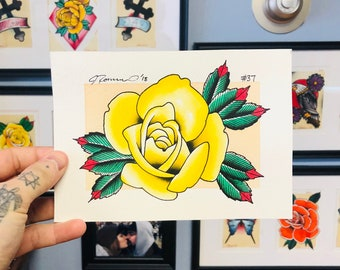 Prints Original Paintings And Merch By Jakeromerotattoo On Etsy