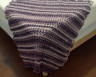 Crocheted Baby Blanket, Baby Shower Gift, Handmade Blanket, Baby Gift -#CCBB