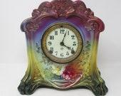 Royal Bonn La Cette with Ansonia Clock Works