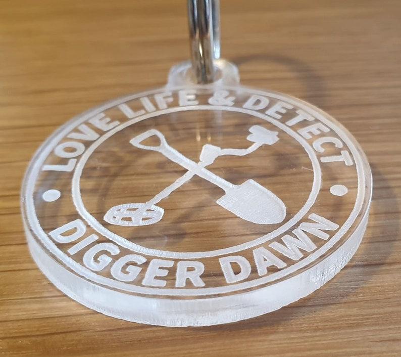 Digger Dawn Keyring