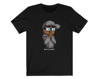 Concerned Kimboji by Art of Kimbo T shirt
