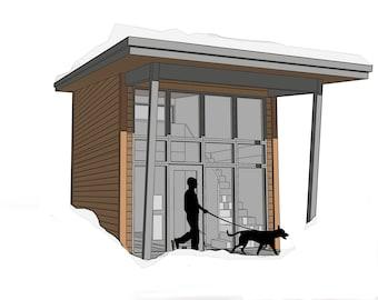Plans Petite Maison Etsy