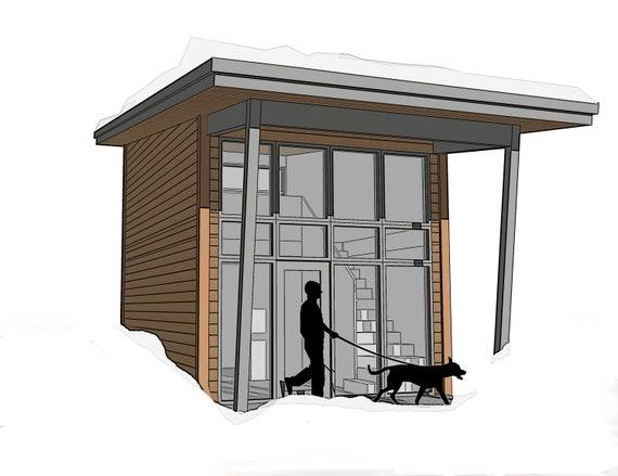 Small Housing Floor Plans House Floor Plan Tiny Houses Etsy