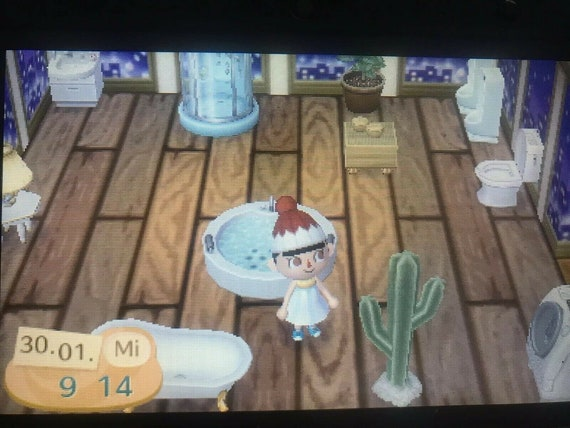 Animal crossing new leaf bathroom + 10 mio bells