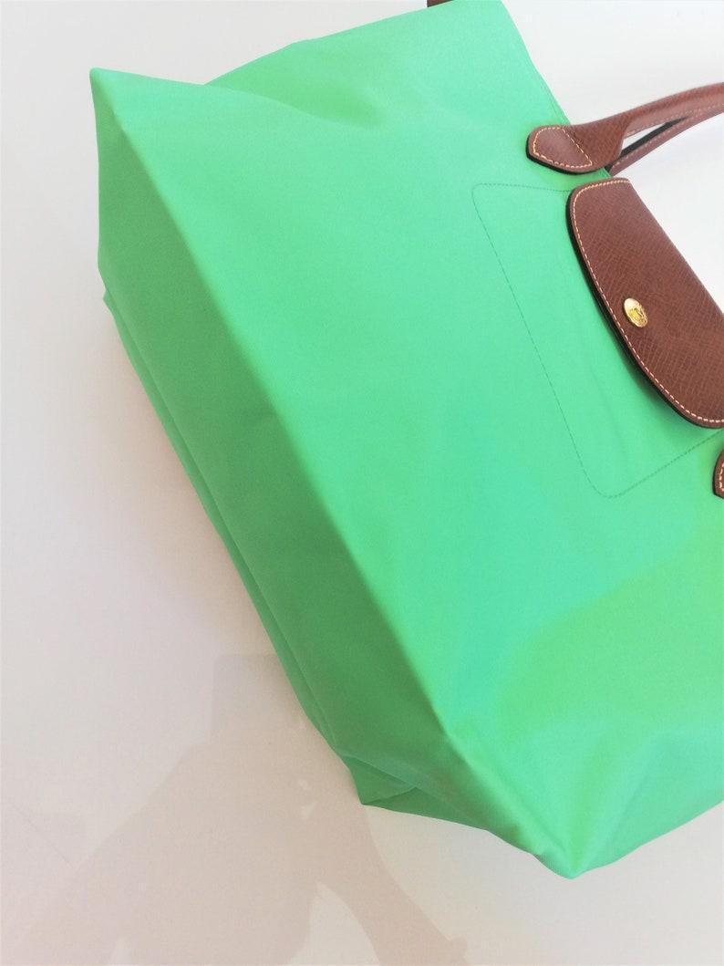 NEUF Authentique Longchamp Le Pliage Sac porté épaule Nylon S couleur Vert