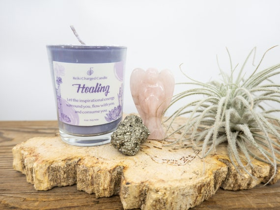 INTENTION CANDLE KIT  | Unscented Intention Candles | Reiki Charged Votive Candles