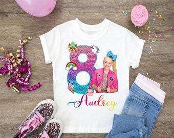 JoJo Siwa Birthday Shirt Shirts Girls Party