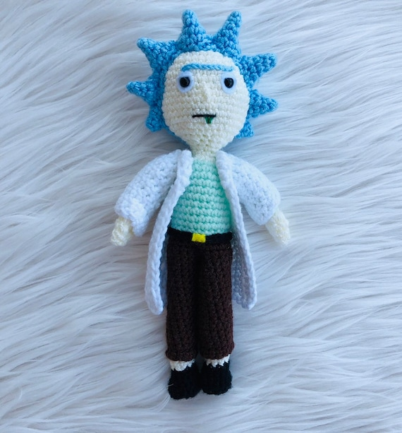 Ravelry: Rick Sanchez from Rick and Morty by Tina L. crafts | Rick and morty,  Crochet projects, Crochet dolls | 613x570