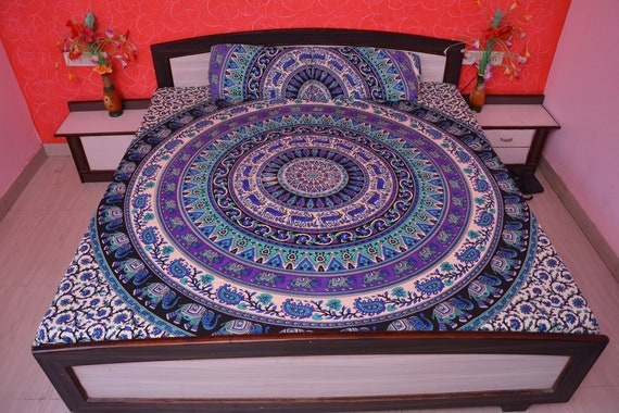 Elephant Sofa Cover Queen Bedspread Throw Tapestry Wall Hanging Sofa Slipcovers