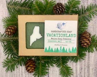 Earthy & Floral - Vacationland - State of Maine Handcrafted Maine Soap