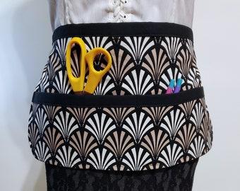 Vendor Apron Custom Half Apron Multi Pocket Apro Womens Apron Kitchen Apron Housewarming Gift Apron with Pockets Teacher Apron