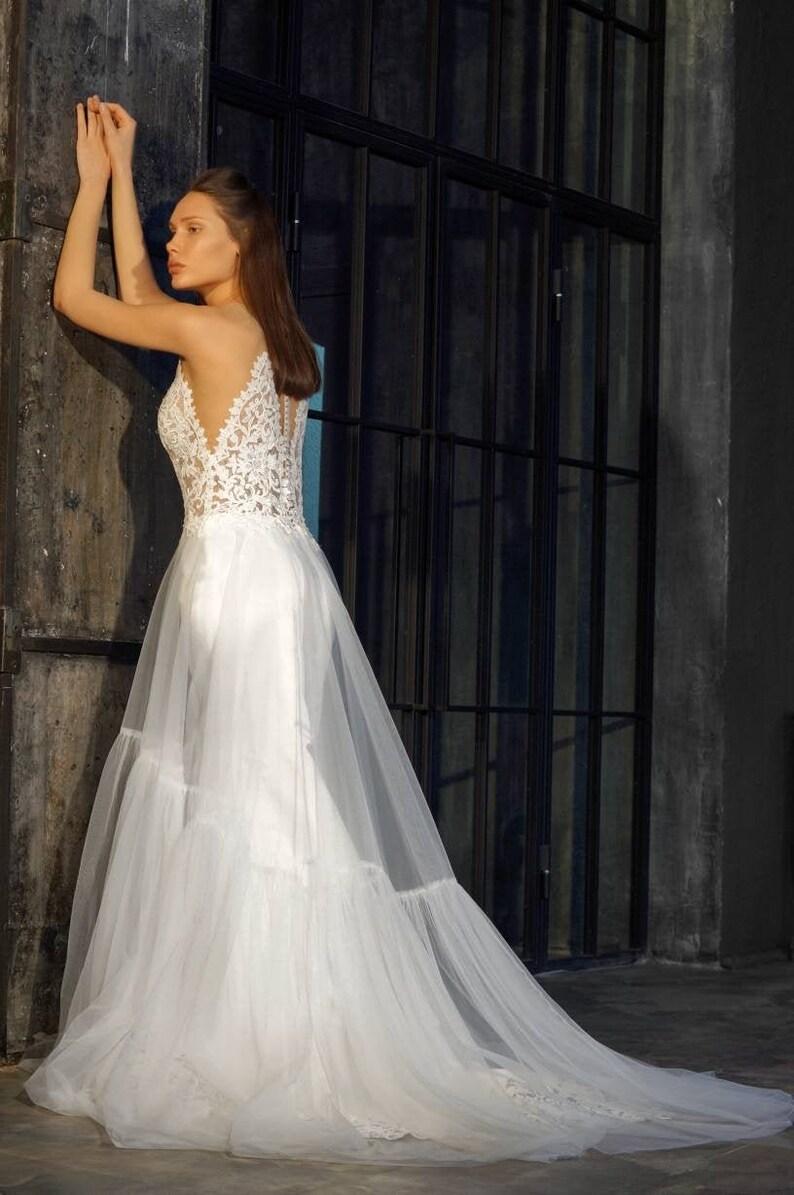 NEW Exclusive boho wedding dress. Size 20.   Etsy