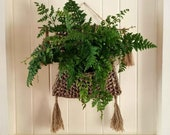Wall Hanging Seagrass Plant Baskets Best Suits 15cm Pots Handmade Great Gift Idea