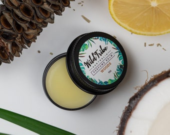 Solid Perfume (Woods), 100% Natural, Vegan, Eco-Friendly, Organic, Chemical Free, Perfect Gift.
