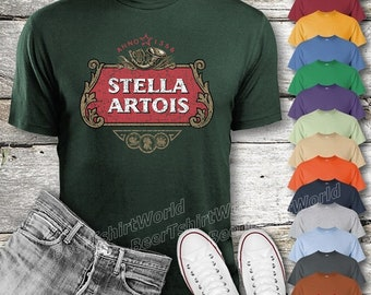 21447519 Stella Artois Beer T-Shirt Custom Designed