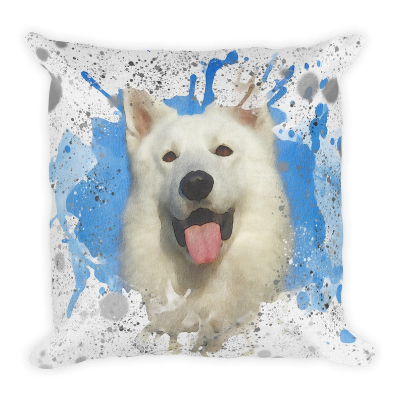 0d44d8b32fe7 Husky Dog Throw Pillow Pet loss gift Pet lover present | Etsy