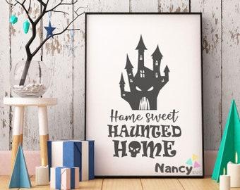 Haunted farmhouse | Etsy