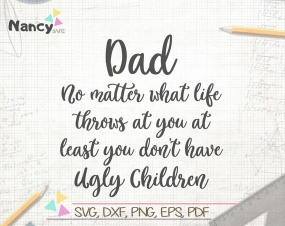 Dad No Matter What Life Throws At You Father S Day Svg Etsy