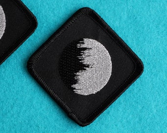 Celestial Body Patch with Reflective Thread