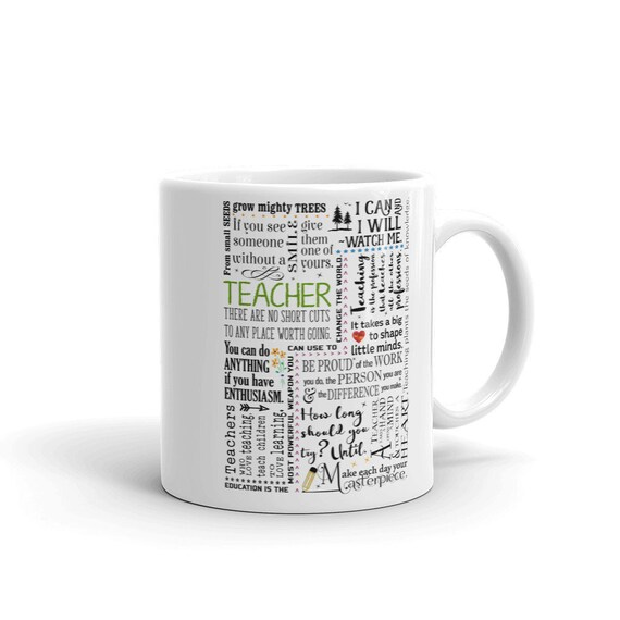 teacher gift teacher retirement gift teacher coffee mug