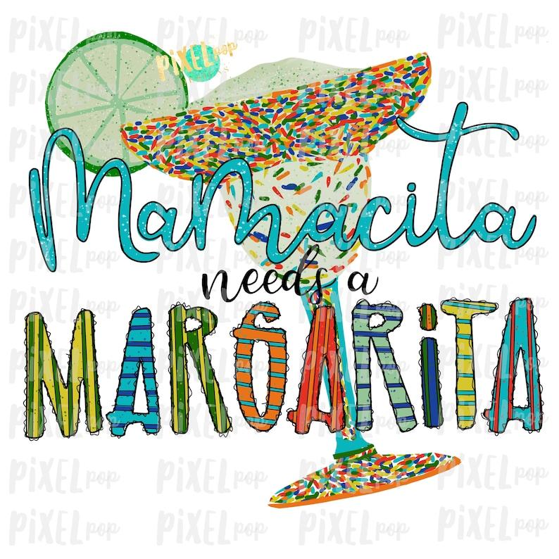 Download Mamacita Needs a Margarita Cinco de Mayo Sublimation ...
