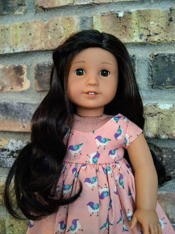 Einstellbare Puppe Charm Halskette Puppe Zubehör für AG American Doll Doll