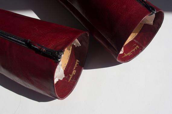 70's-80's Ferragamo Boots