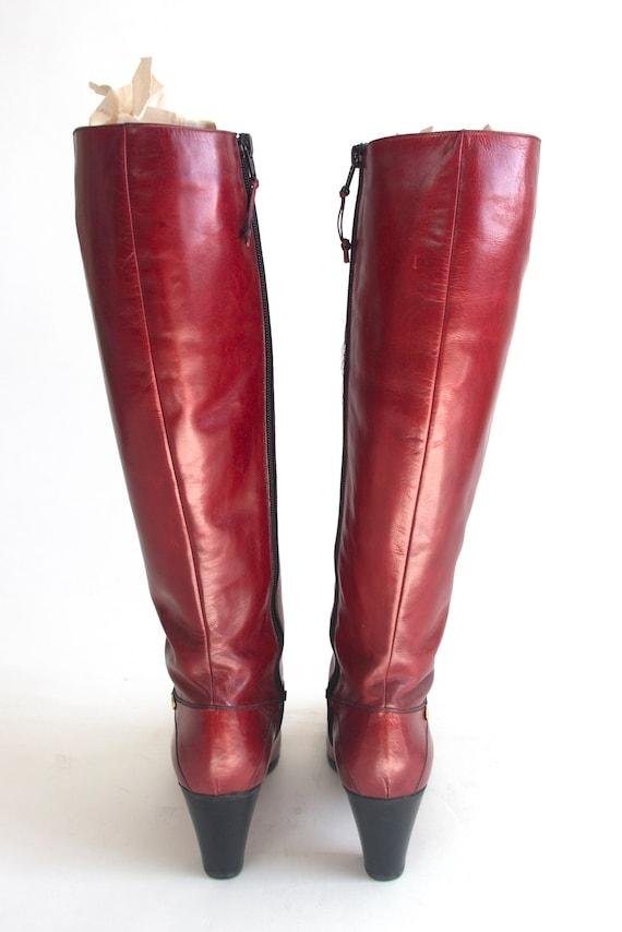 70's-80's Ferragamo Boots - image 3