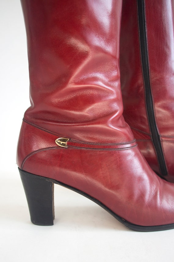 70's-80's Ferragamo Boots - image 4
