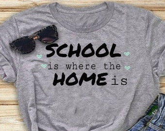 f09a9d5808 Homeschool Mom Shirt, Homeschooler Shirt, Home School Mom Shirt,  UnSchooling Mom Shirt, Homeschool Teacher Shirt, Gift For Homeschool Mom