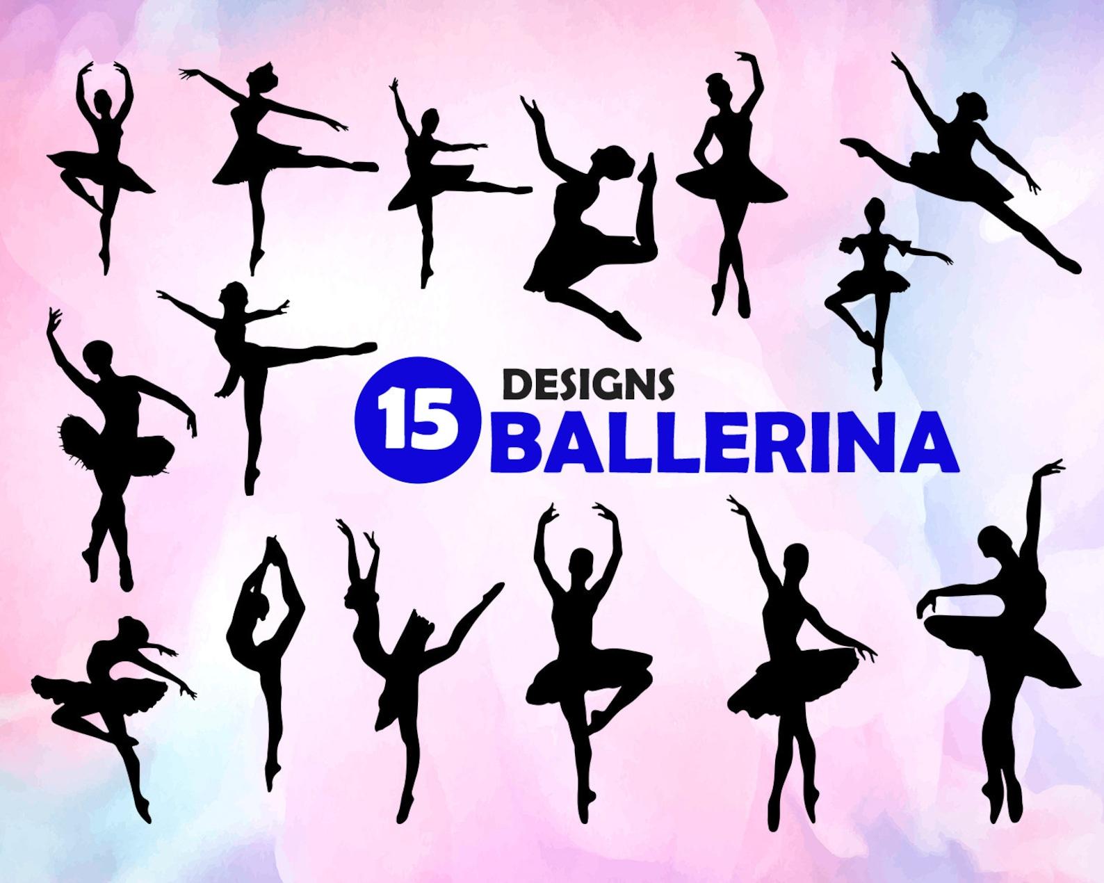 ballerina svg, ballet svg, dancer svg, ballerina silhouette, ballerina clipart, ballerina cut file, ballerina, ballerina dxf, ba