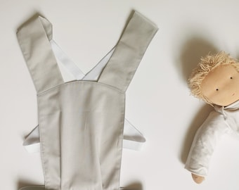 Doll carrier for a toddler, Grey