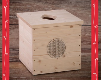 Flower-of-Life Yoni Spa Box for vaginal steaming