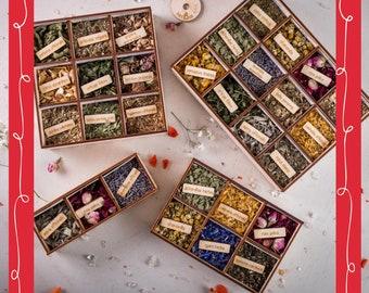 herBox XXXL bundle, 108 steams, vaginal steam herbs, smoke, smudge, yoni steam, Räucherwerk, gift, selfcare