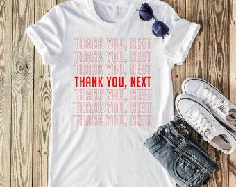 43e5a72f4 Thank you Next T shirt- Ariana Grande- Thank you T shirt- Grande t shirt