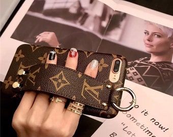 1b6447891bc Luxury Louis Vuitton LV Canvas Phone Case Cover for iPhone 6 7 8 X XS XR  Max Plus High Quality Classic Brown High Quality Designer