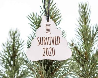 I Survived 2020 Ornament