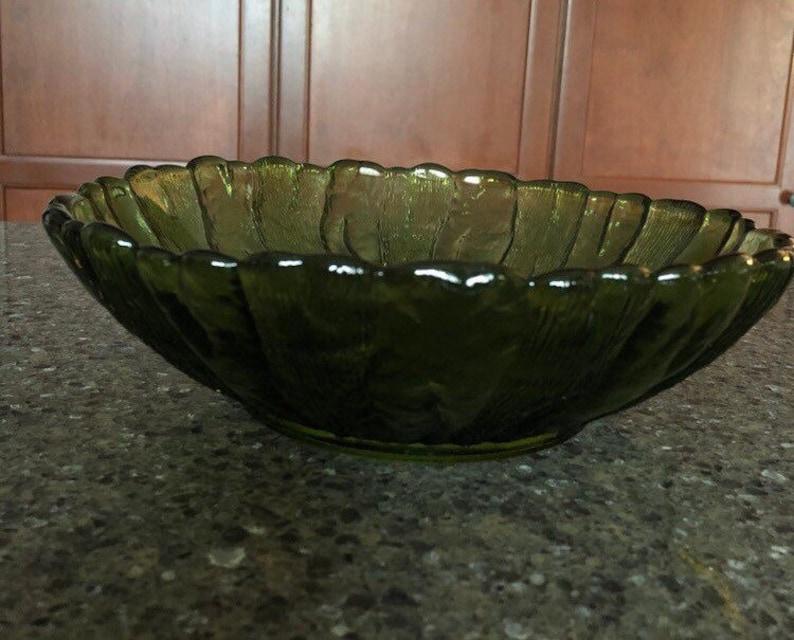 Country Garden Anchor Hocking 10 bowl