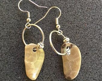 P-Town (Petoskey Stone) Earrings