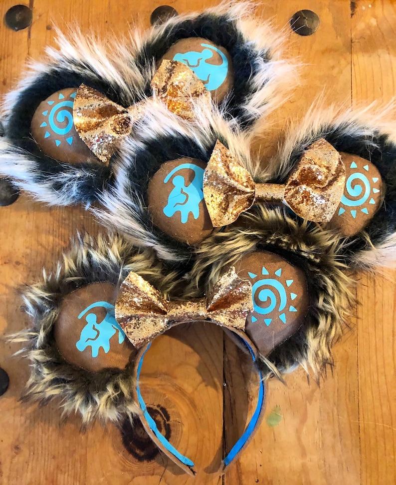 Lion king ears disney ears, animal kingdom ears Mickey ears minnie ears