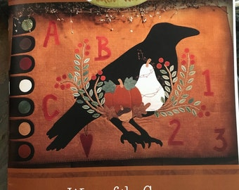 Wing of the Crow-Book 1 Autumn Wool Applique Pattern Book