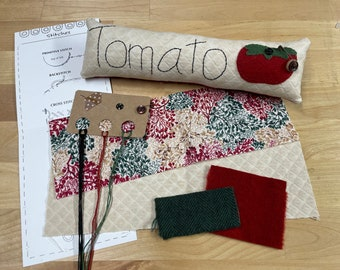 Pattern and Kit: Tomato Skinny Pillow
