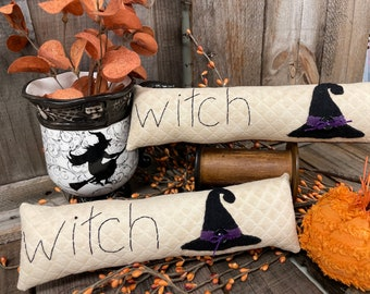Pattern and Kit: Witch Skinny Pillow