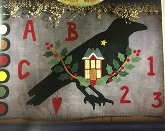 Wing of the Crow-Book 2 Winter Wool Applique Pattern Book