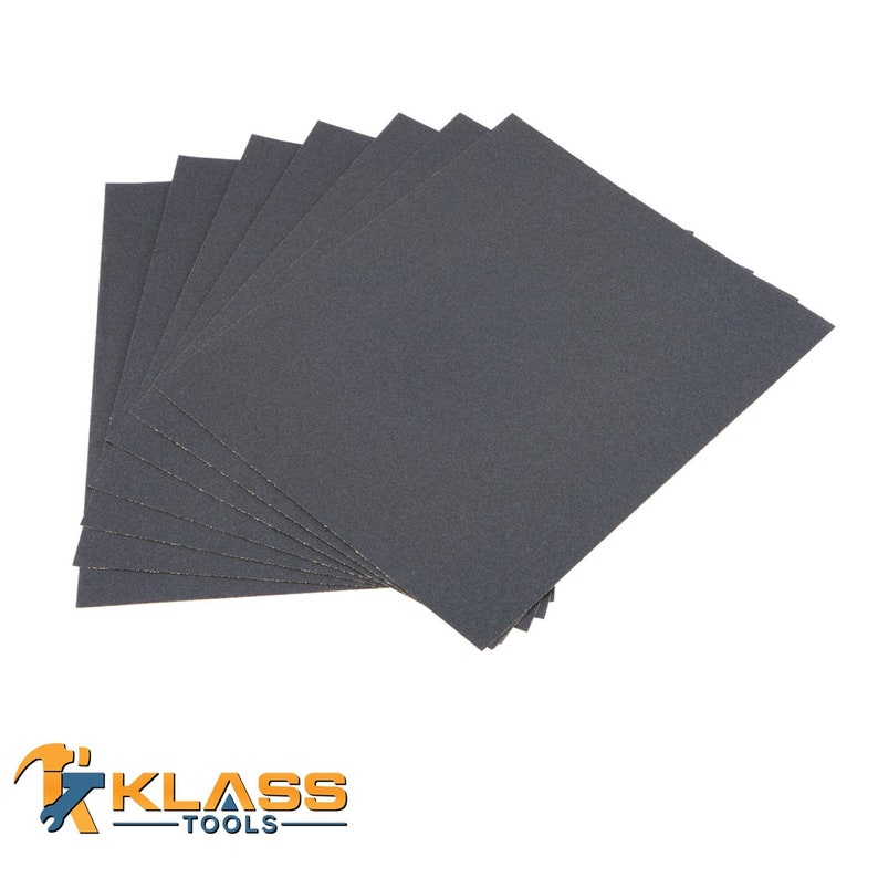 x 11 in 220 Grit Silicon Wet  Dry Sandpaper 9 in Sheet